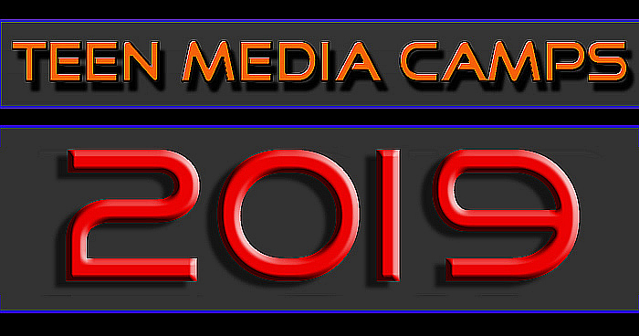 half off e7cb4 34fc4 Click on the above graphic for the 2019 SUMMER TEEN MEDIA CAMP FORM